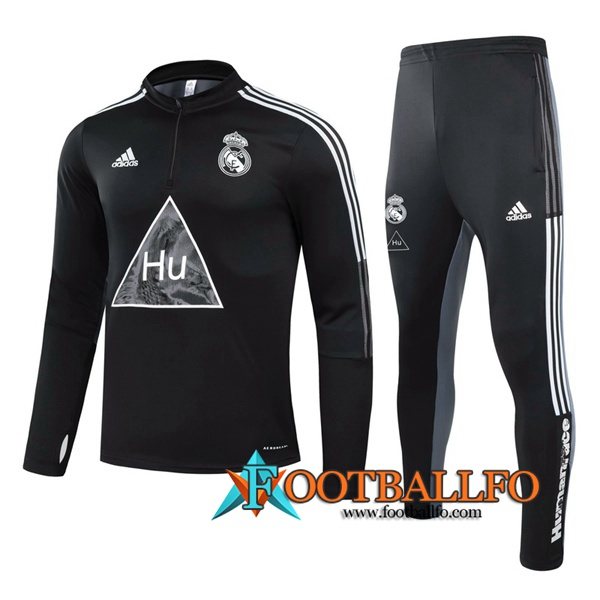 Chandal Futbol Real Madrid Niños Joint Edition Negro 2020/2021