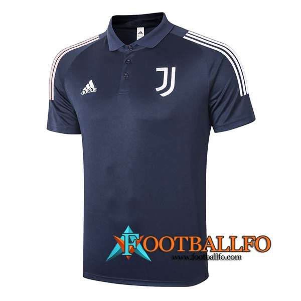 Polo Futbol Juventus Azul Royal 2020/2021